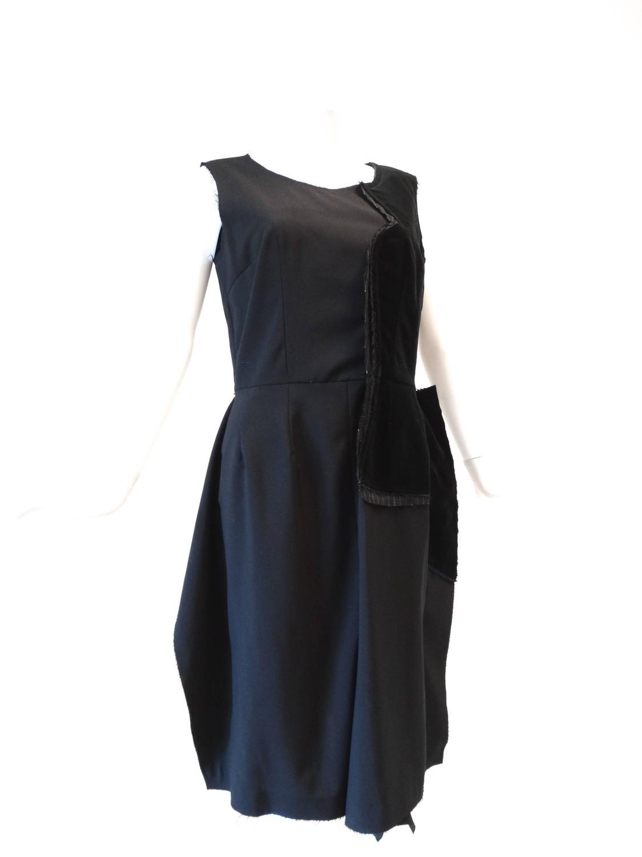 2005 Comme Des Garcons Little Black Dress For Sale At 1stdibs