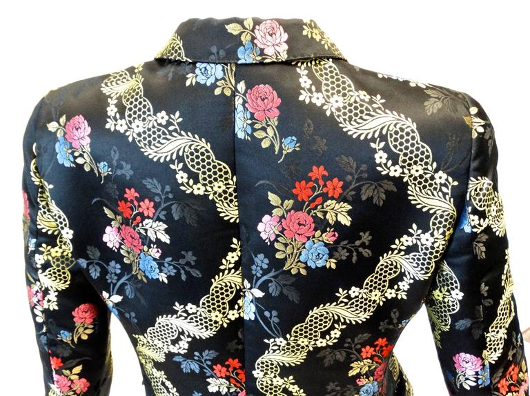 1990s Moschino Couture Silk Evening Jacket  5