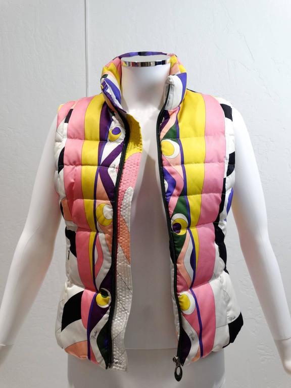 1990s Emilio Pucci Ski Vest For Sale At 1stdibs