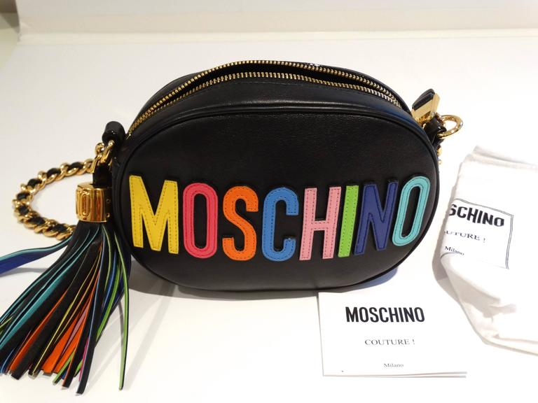 Moschino 'Rainbow Letters' Crossbody Bag 2