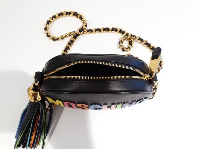 Moschino 'Rainbow Letters' Crossbody Bag 7