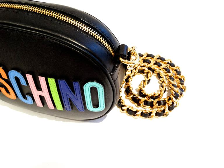 Moschino 'Rainbow Letters' Crossbody Bag 5