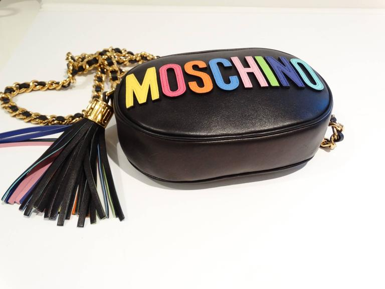 Moschino 'Rainbow Letters' Crossbody Bag 4