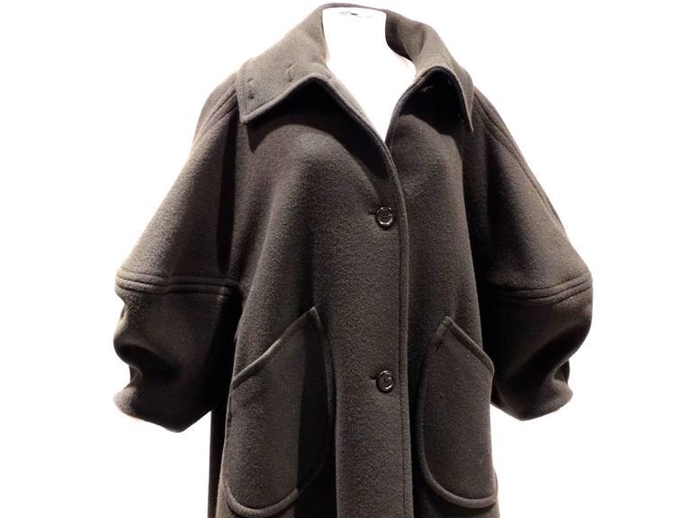 1990s Isaac Mizrahi Oversized Batwing Coat 2