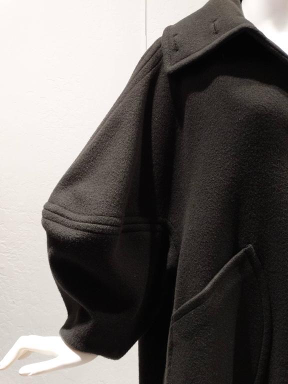 1990s Isaac Mizrahi Oversized Batwing Coat 5