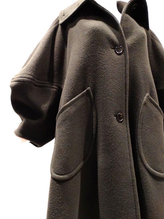 1990s Isaac Mizrahi Oversized Batwing Coat 6