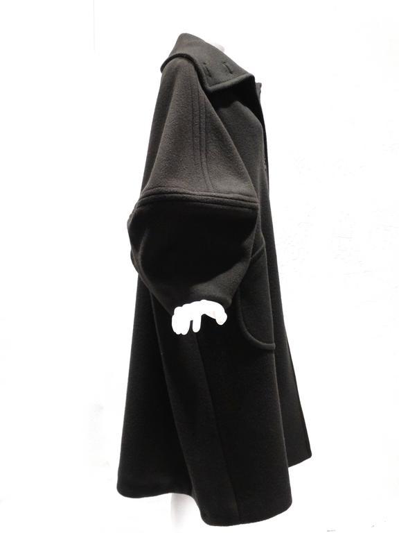 1990s Isaac Mizrahi Oversized Batwing Coat 4