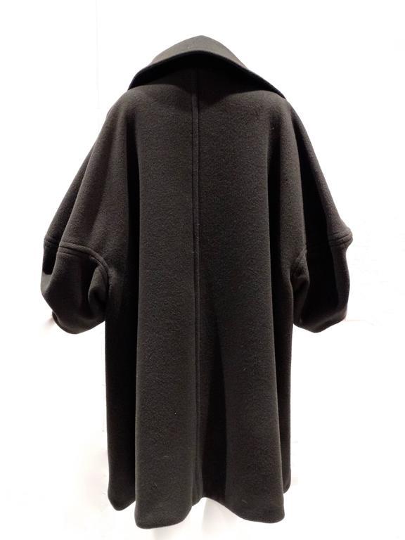 1990s Isaac Mizrahi Oversized Batwing Coat 8