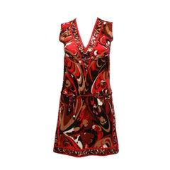 1980s Emilio Pucci Mini Dress