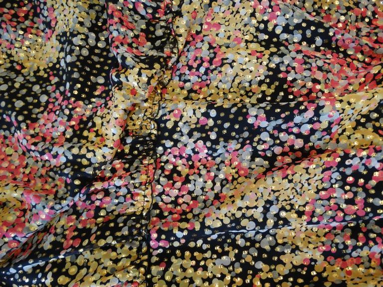 1990s M Missoni Crochet Lame' Maxi Dress In Excellent Condition For Sale In Scottsdale, AZ