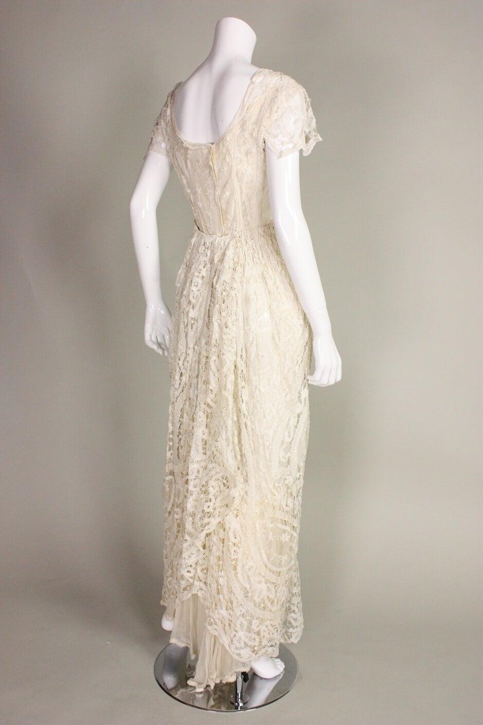 Edwardian Battenburg Lace Dress 3