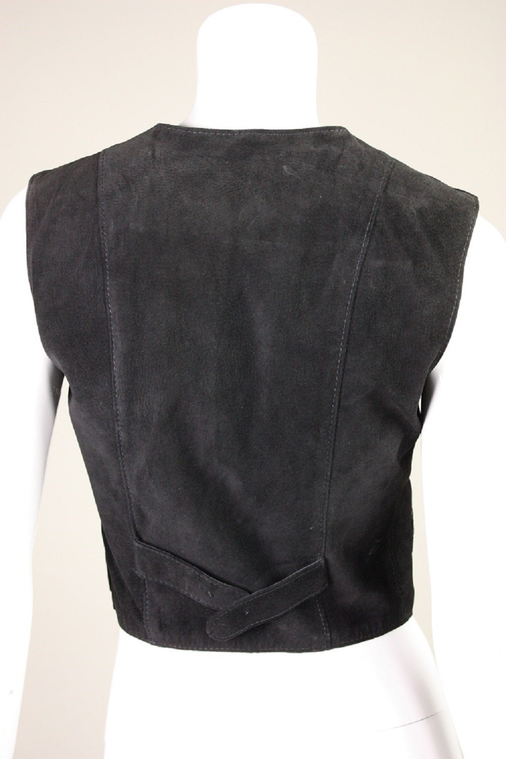 1970's Bill Gibb Suede Jacket & Vest with Embroidery 8