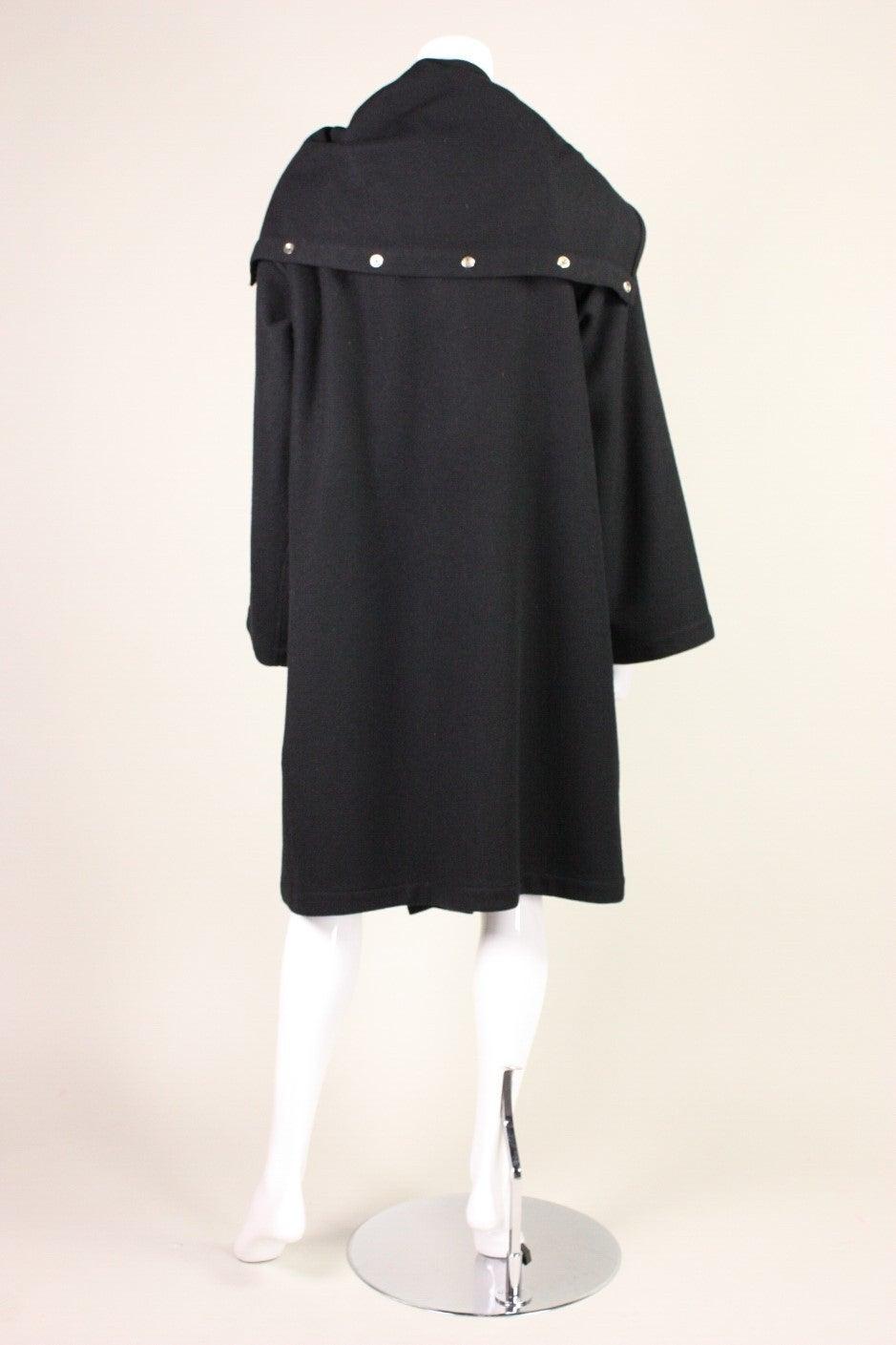 Jean-Charles de Castelbajac Wool Coat with Appliqued Figure 4