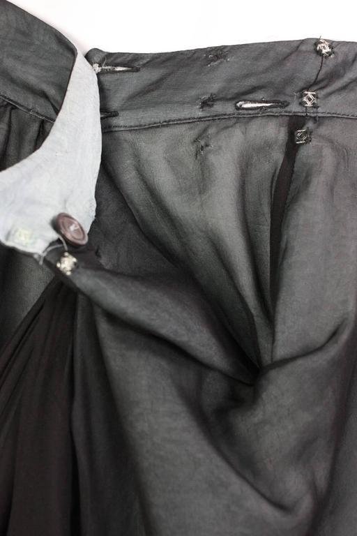 Giorgio Armani Double-Layered Silk Full Skirt 8