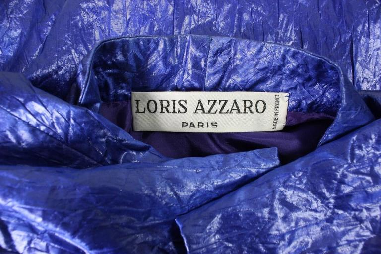 1980's Loris Azzaro Geometric Cocktail Dress & Jacket For Sale 5