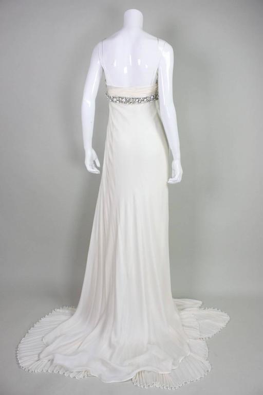 Roberto Cavalli Chiffon Goddess Gown For Sale 1