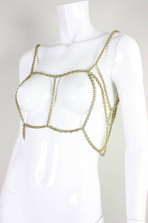 Gold-Toned Chain Body Jewelry 3
