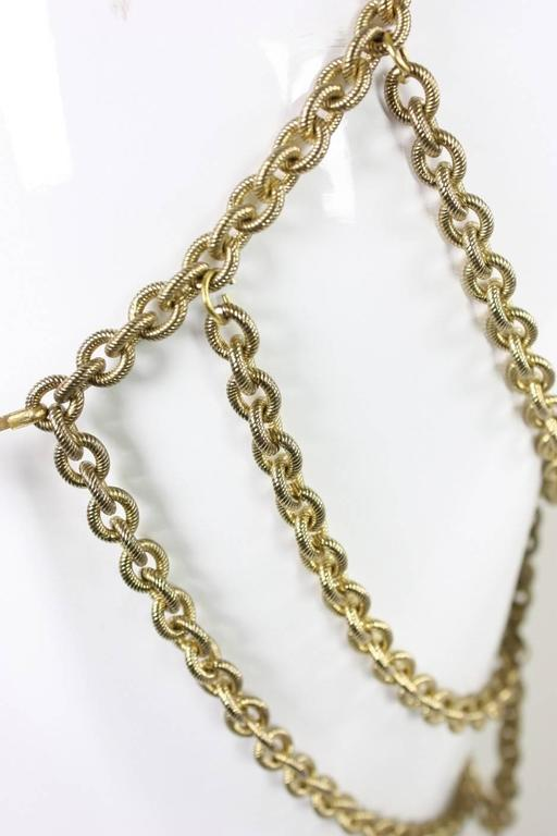 Gold-Toned Chain Body Jewelry 6