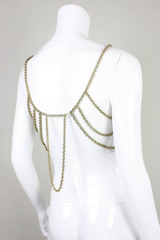 Gold-Toned Chain Body Jewelry 4
