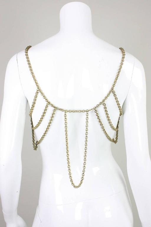 Gold-Toned Chain Body Jewelry 5