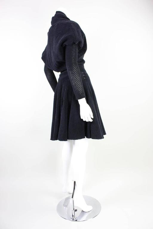 1980's Alaia Chenille Knit Dress 4