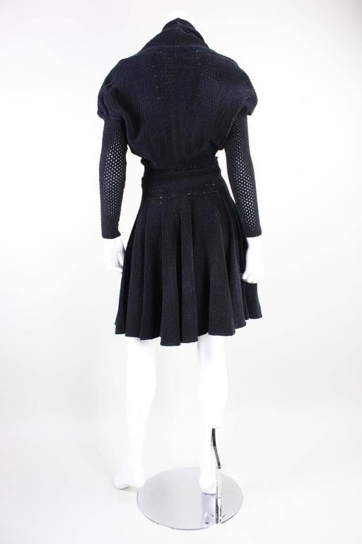 1980's Alaia Chenille Knit Dress 5