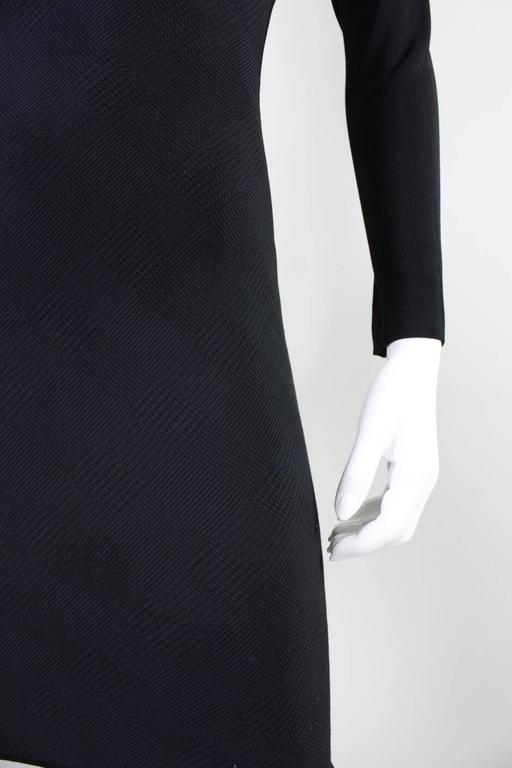 Herve Leger Body-Con Houndstooth Dress, 1990s  For Sale 2