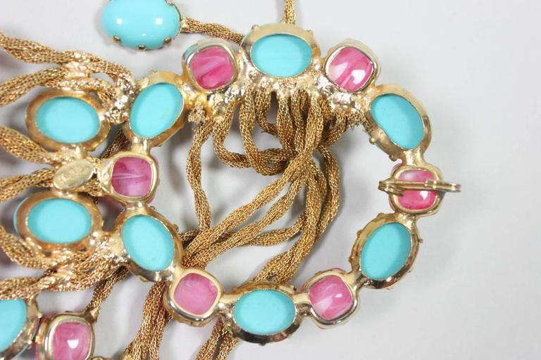 1960's Kenneth Jay Lane Bejeweled Belt 8