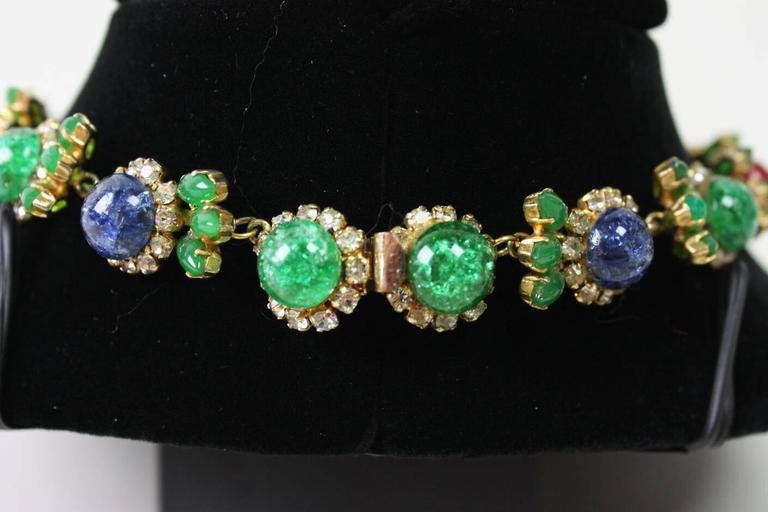 1960's Christian Dior Necklace & Earrings 5