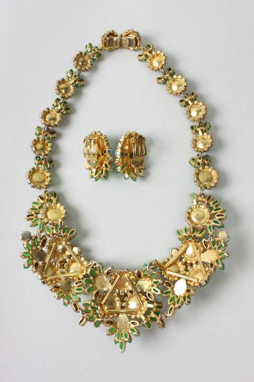 1960's Christian Dior Necklace & Earrings 6