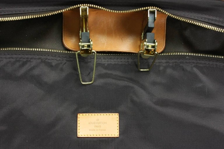 1990's Louis Vuitton Monogram Garment Bag Luggage For Sale 1