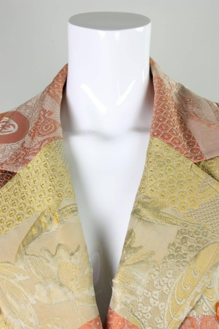 1990's Christian Lacroix Jacquard Blazer For Sale 1