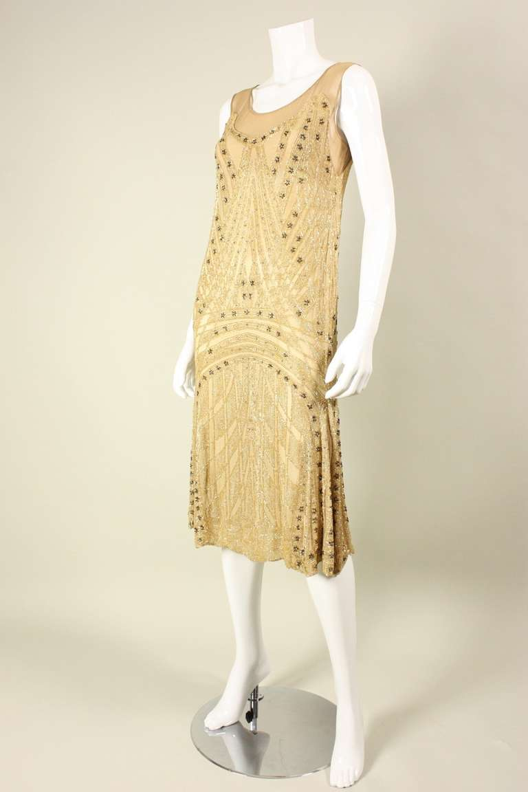 1920 S Beaded Silk Flapper Dress For Sale At 1stdibs