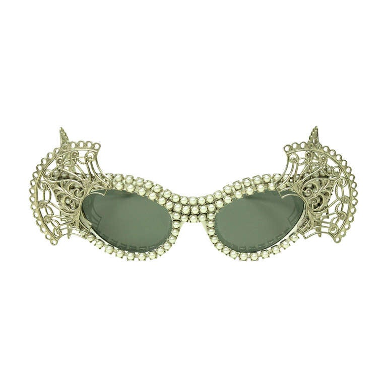Mecura NYC Cat Eye Sunglasses For Sale