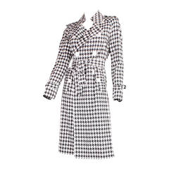 Junya Watanabe for Comme des Garcons Houndstooth Trench