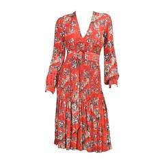 VIntage Jean Paul Gaultier Dress with Burlesque Print