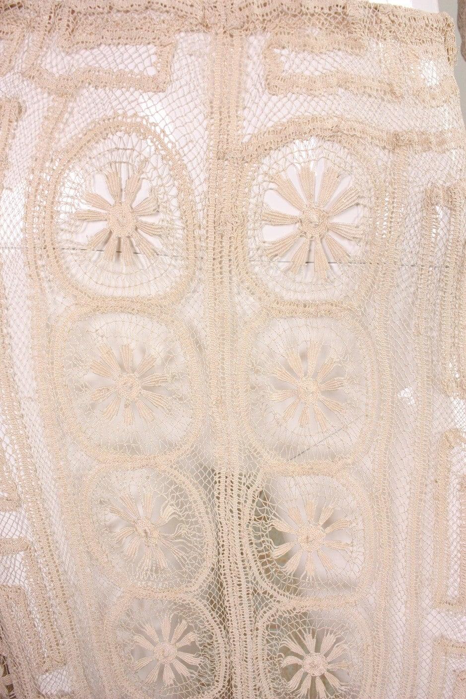 1930's Cream Cotton Lace Ensemble 7