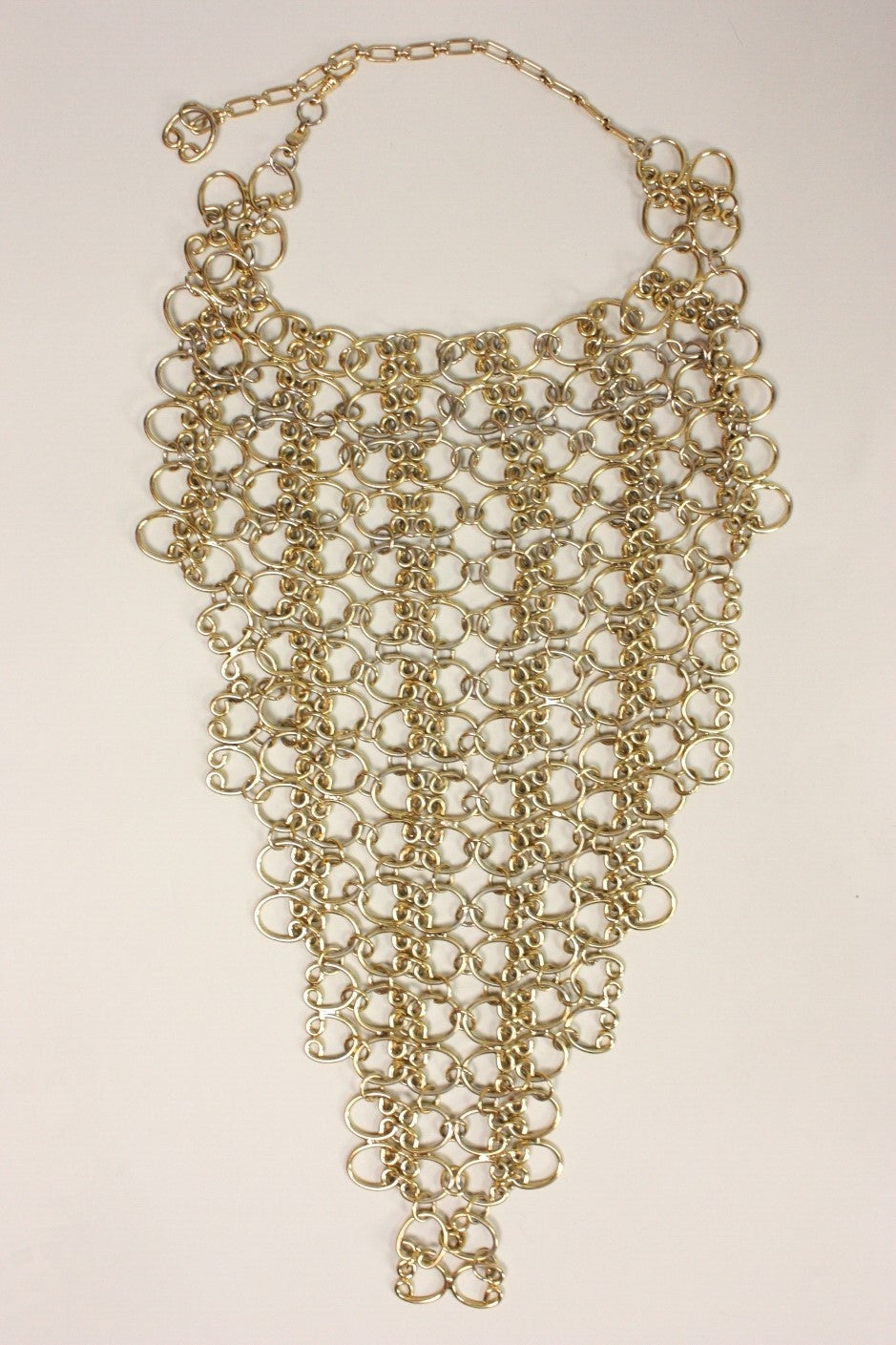 1960's Pauline Trigere Massive Statement Bib Necklace 2