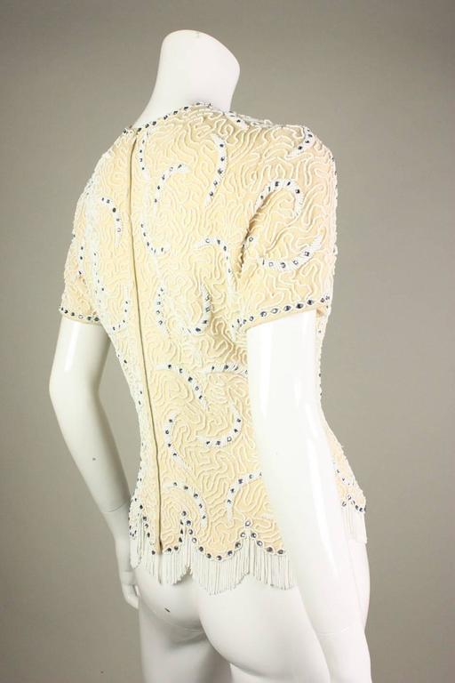 1950's Elsie Tu Beaded Sweater 3