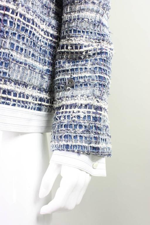Dolce & Gabbana Woven Denim Jacket For Sale 1