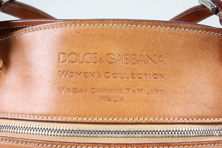 Dolce & Gabbana Miss Adventure Pony Hair Tote For Sale 3