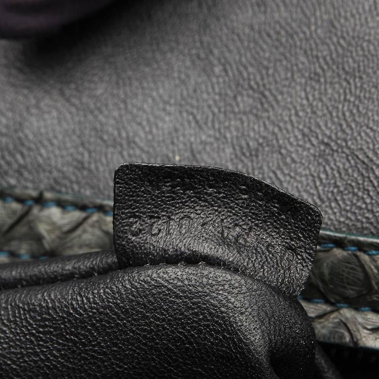 2012 Céline Evergreen Python Medium Phantom Luggage Tote 8