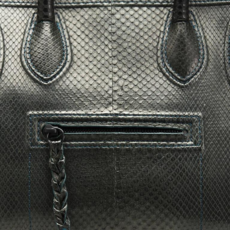 2012 Céline Evergreen Python Medium Phantom Luggage Tote 6