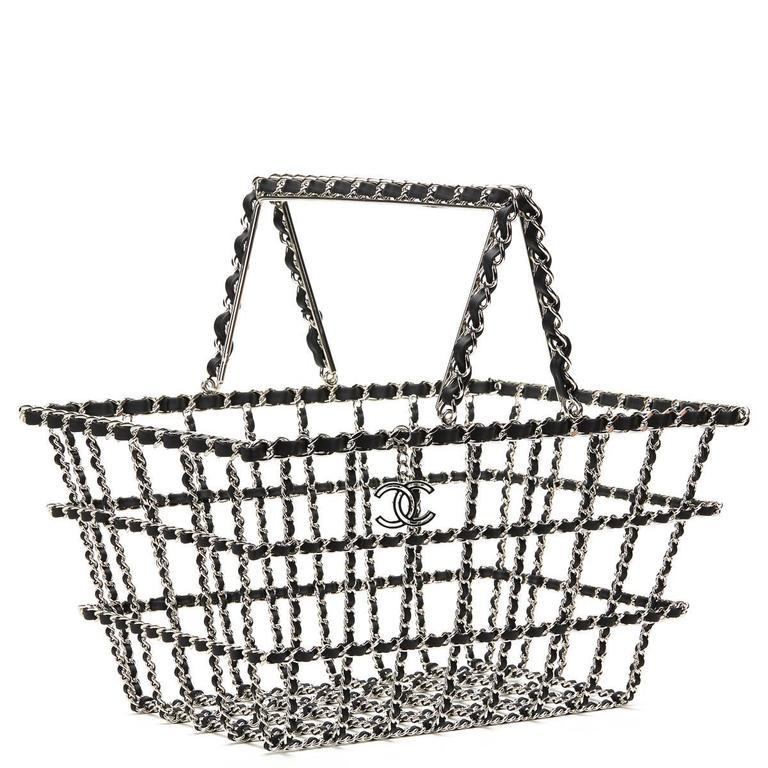 Women's or Men's Chanel Act 2 Basket Bag, Fall 2014  For Sale
