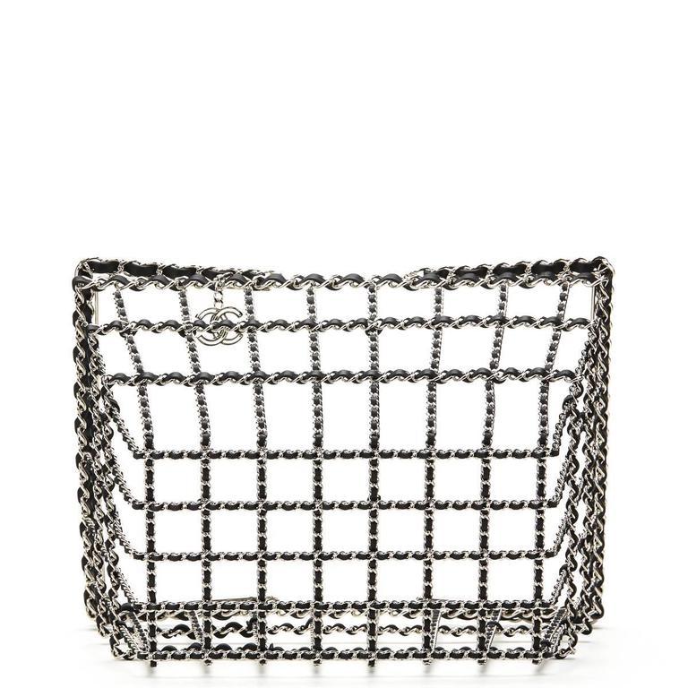 Chanel Act 2 Basket Bag, Fall 2014  For Sale 1