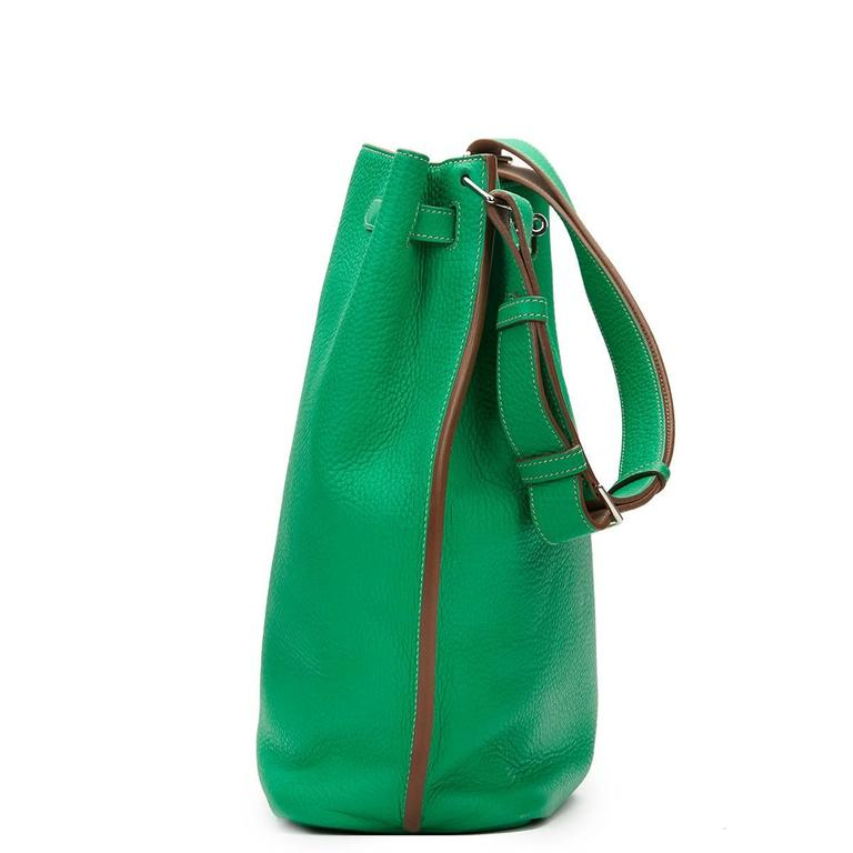 2013 Hermes Menthe Clemence Leather So Kelly 26 3