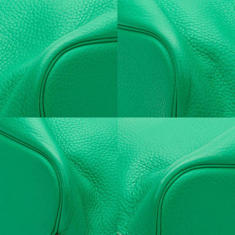 2013 Hermes Menthe Clemence Leather So Kelly 26 9