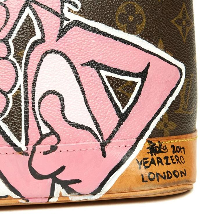 Xupes x Year Zero London Handpainted Ca$h Money 'For the Love of Money' Alma PM  For Sale 2