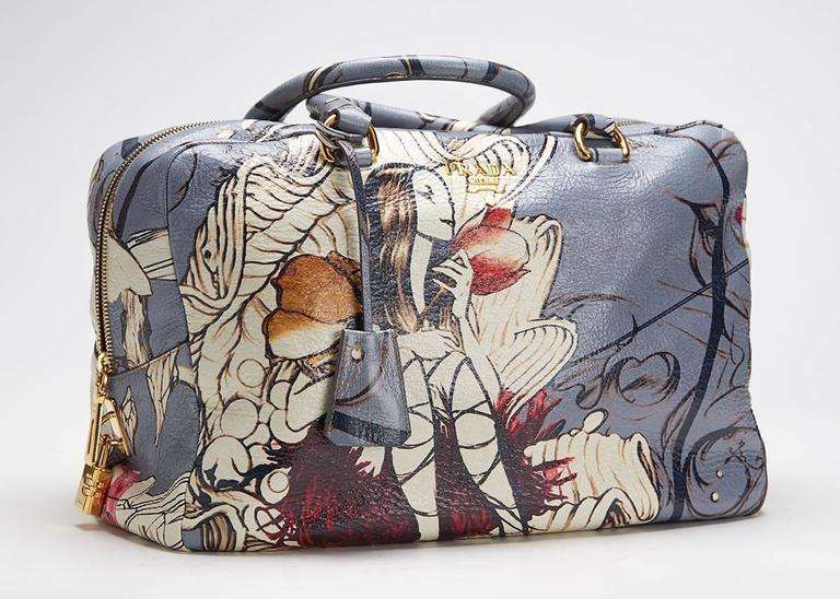 9bf83f0e86f0 2008 Prada Limited Edition James Jean Fairy Bag In Excellent Condition For  Sale In Bishop's Stortford