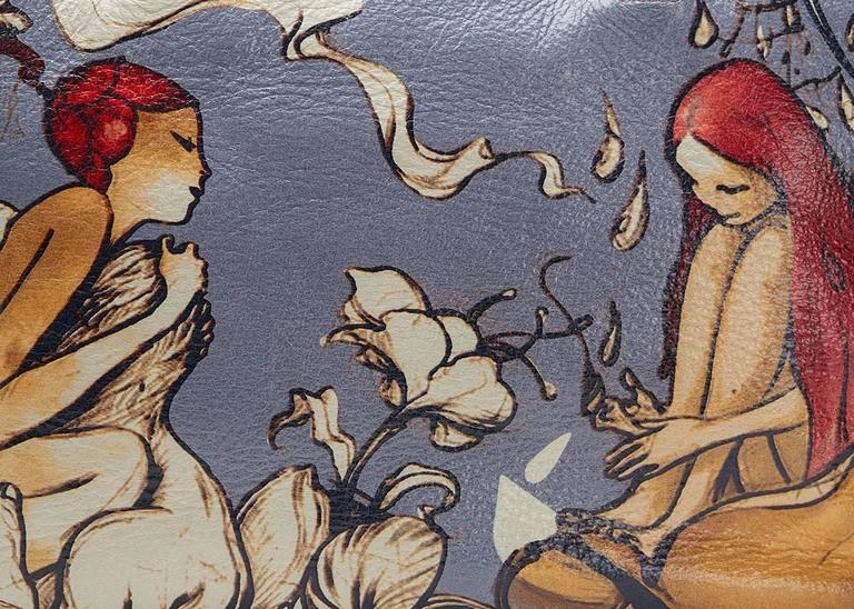 5e2b5188d75e 2008 Prada Limited Edition James Jean Fairy Bag For Sale 3